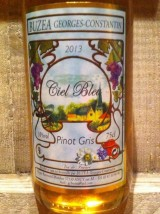 "Pinot gris ""Ciel Bleu""  2013 de Moselle Buzea"