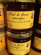 Miel liquide de fleurs sauvages de Lorraine- 500g