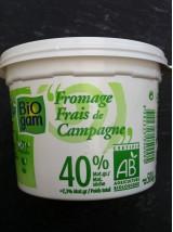 Fromage frais de Campagne 40%